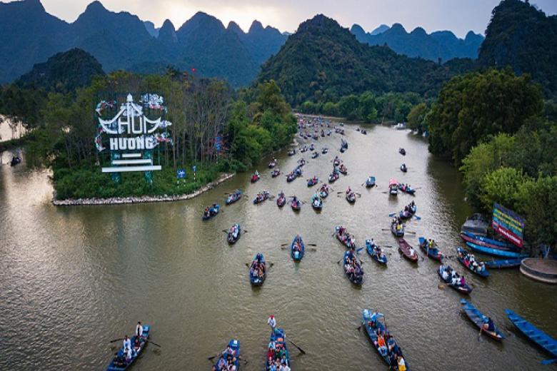 Tour lễ hội Chùa Hương, Đền Sòng Sơn đón lộc xuân khởi hành từ Thanh Hóa